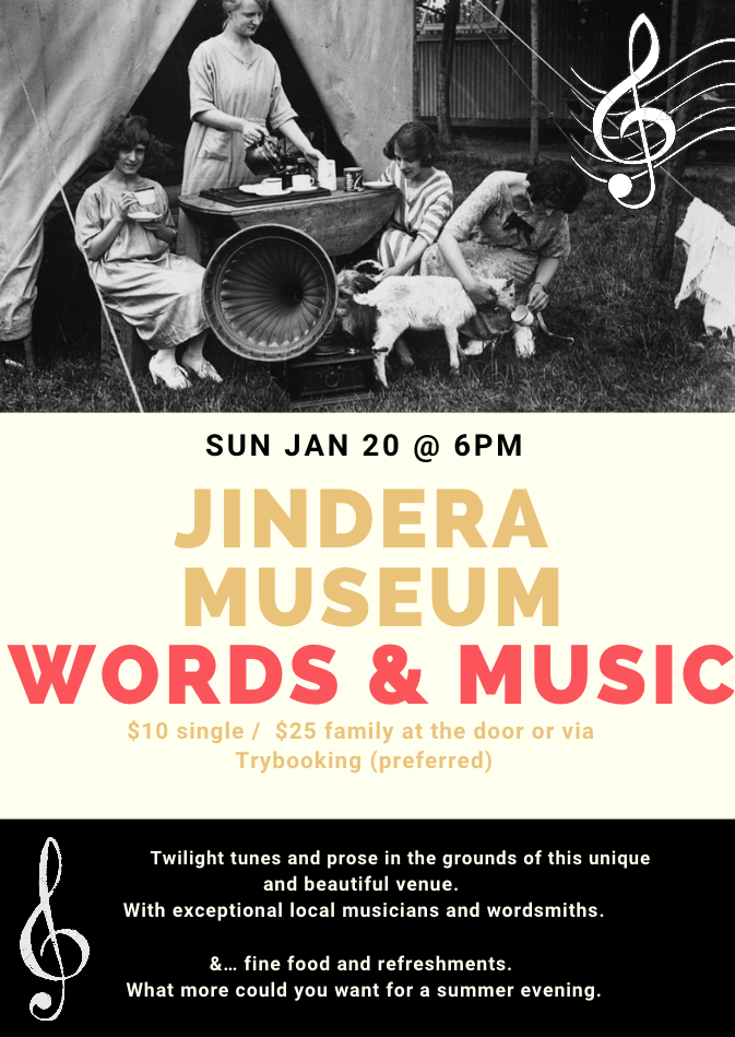 Words and Music at Jindera