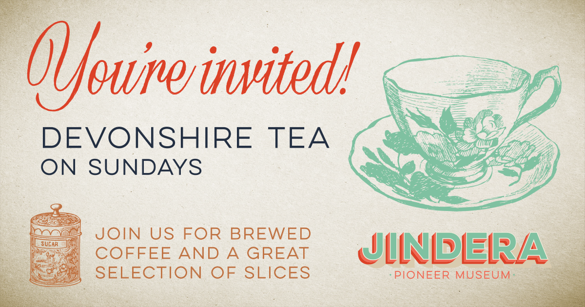 Devonshire tea in Jindera